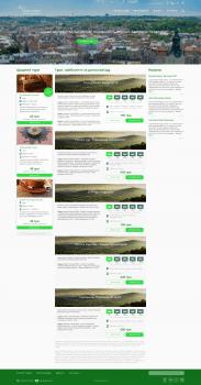Сайт экскурсионного агентства