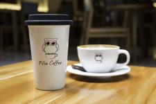 Логотип для мини-кофейни