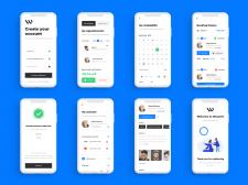 Дизайн мобильного приложения Барбершоп