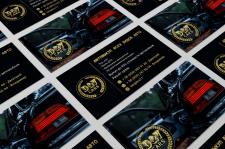 """Визитки для автокомпании """"D&V cars"""""""