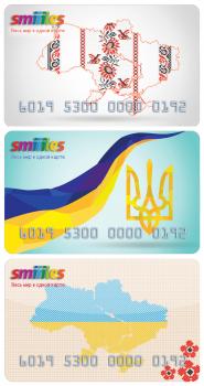 Разработка дизайна карточек для Smiiiles Ukraine