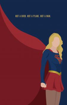 Иллюстрация супергероя