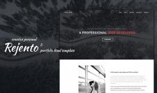 Rejento Personal & Portfolio HTML Template