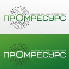 Разработка логотипа Промресурс