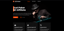 Сайт Покерного аффилейта Just Poker