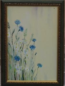 цветы , масло