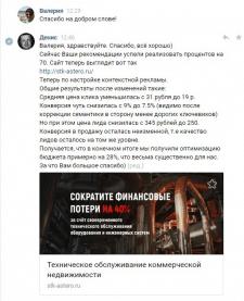 Результаты аудитасайта и РК в РСЯ