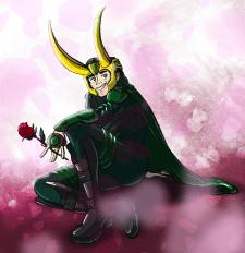 Loki in love