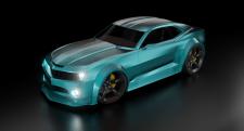 Chevrolet camaro / Blue devil