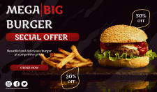 Mega big Burger