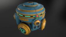 Gravity generator (space engineers fan art)