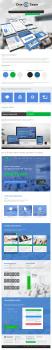 350 $ Адаптивный дизайн сайта для OneTeam Interna