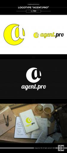 """Проект логотипа """"Agent.pro"""""""