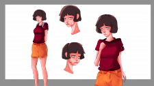 Character design and concept art
