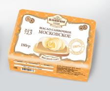Упаковка масла для «Усадьба Ильинское»
