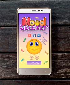 Интерфейс игры Mood Clicker