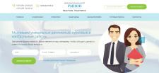 Верстка сайта HTML, CSS, SASS