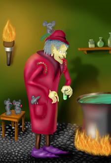 Персонаж: алхимик