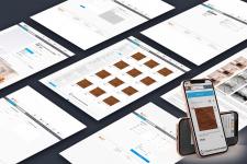 Дизайн интернет магазина плитки (десктоп+моб)
