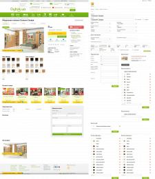 Наполнение интернет-магазина мебелью
