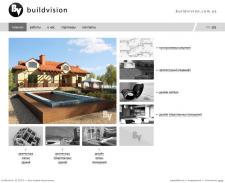 """Сайт архитектурно-конструкторской компании """"buildvision"""""""