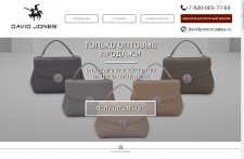 DAVID JONES - продажа сумок