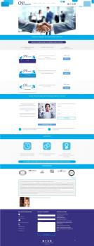 Редизайн сайта согласно новому фирменному стилю.