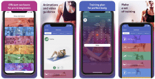 IOS App - Bunetto: Fitness & Workout