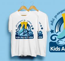 "Лого для товару ""Kids aqua"" (Дом. аквапарк)"