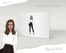 Создание векторного портрета по фотографии