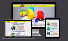 """Дизайн сайта для принт-студии """"Ямайка"""""""