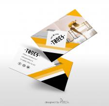 """Дизайн визитки """"TODES"""""""