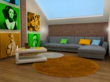 Комната любителя Beatles