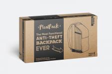 Дизайн картонного упакування рюкзаку