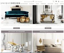 Установка мебели из Европы Uniquedesign