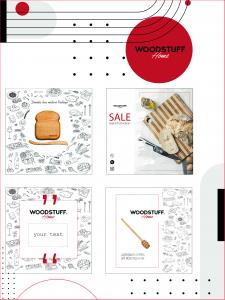 Шаблоны для размещения товаров в ленте Instagram