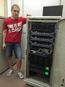 Модернизация IT структуры в офисе 800 сотрудников