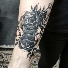 Tattoo flowers тату цветы
