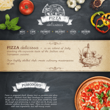 """Сайт-визитка """"Pizza Deliciosa"""""""