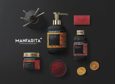 MANFARITA Beaty Shop Logo & Package