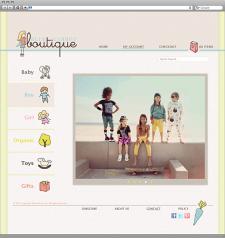Интернет-магазин товаров для детей.