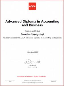 ACCA diploma