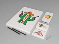 Логотип Мексиканського ресторану AMIGO