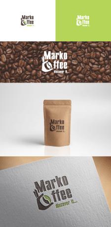 "Логотип для марки кофе ""Marko Coffee"" на конкурс"