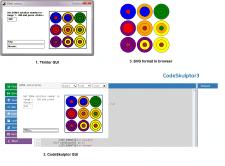 Визуализация решений для головоломки SOMA