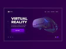 Oculus Rift | Очки VR | Концепт сайта