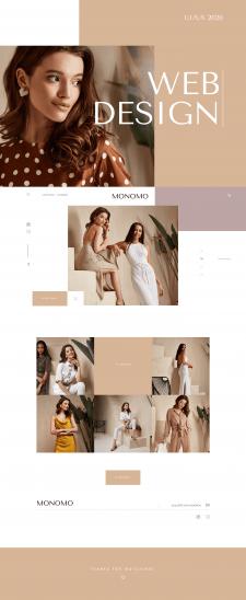 Monomo Website design