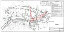 План сооружения на топосъемке 3