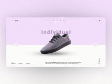 Landing page NewShoe