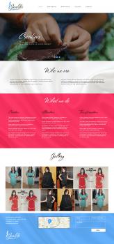 Одностраничный сайт под Wordpress
